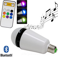 BLUETOOTH SPEAKER LED BULB - COLOR CHANGING