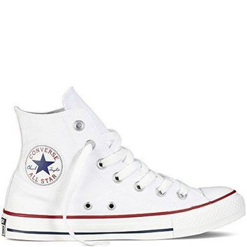 Converse Mens Chuck Taylor All Star High Top, 6 Men 8 Women, Optical White Converse s