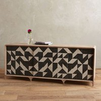 Sura Buffet by Tracey Boyd Black One Size Furniture