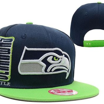 PEAPON Seattle Seahawks 9FIFTY NFL Football Hat