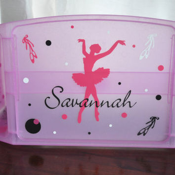 Personalized Lap Desk/ Child Lap Desk/ Lap Tray/ Ballet
