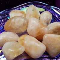 CITRINE Success Stone - Draw Prosperity, Good Luck, Wealth & Confidence - Solar Plexus Chakra