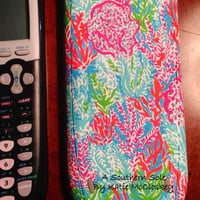 Lilly Pulitzer Inspired LET'S CHA CHA Hand by ASouthernSole