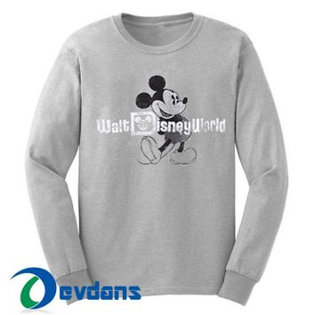 Mickey Walt Disney World Sweatshirt Unisex Adult Size S to 3XL