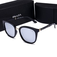 Prada Stylish Women Men Leisure Summer Sun Shades Eyeglasses Glasses Sunglasses Mercury Piece I-HWYMSH-YJ