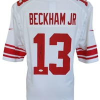 Odell Beckham Jr. Signed Autographed New York Giants Football Jersey (JSA COA)