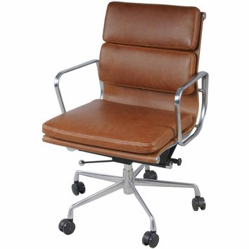 Hollman Low Back Office Chair TAWNY