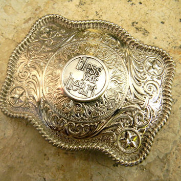 Bless Your Heart Silver Belt Buckle, Southern Sayings, Southern Girl, Simply Southern Country Quotes, Country Song Lyrics, Womens Girls Belt