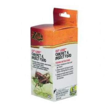 Zilla Gut Load Cricket Insect Food 4 ounce