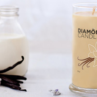 Vanilla Cream Candle - All Natural Soy Candles By Diamond Candles