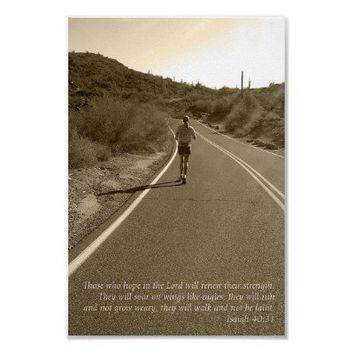 Isaiah 40:31 posters from Zazzle.com