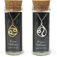 Kris Nations Naughty Zodiac Charm Necklace