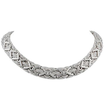 Bulgari Diamond Trika Necklace