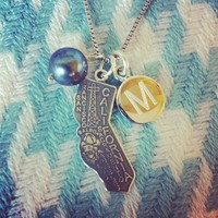 Sterling State Necklaces from Instagram