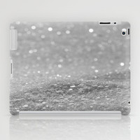 Glitter Silver iPad Case by Alice Gosling | Society6