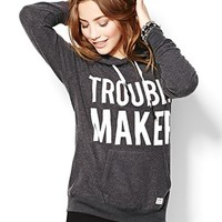 """Trouble Maker"" Lazy Hoodie - Graphic Tees - Garage"