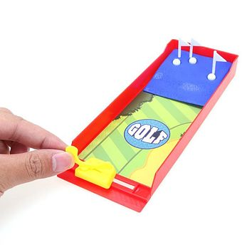 Funny Desktop Golf Shooting Game Finger Toys Kids Mini Interactive Educational Toy Sports Children Birthday Gifts