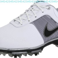 Nike Golf Men's Nike Lunar Control Golf Shoe,Black/Metallic Dark Grey/Cyber,7 M US