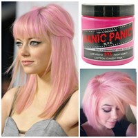 Manic Panic Glow In The Dark Semi Permanent Hair Color in Cotton Candy Pink