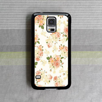 samsung galaxy s5 case , samsung galaxy s4 case , samsung galaxy note 3 case , samsung galaxy s4 mini case , vintage flowers