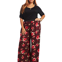 Floral Palazzo Pant | Wet Seal+