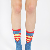 Superman Crew Sock - Urban Outfitters