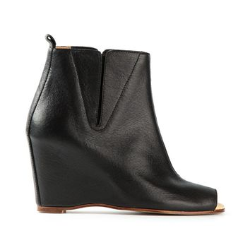 MM6 By Maison Martin Margiela wedge boots