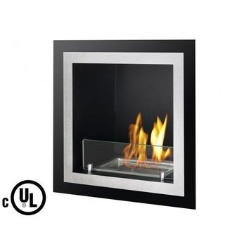 "Ignis Antalia - 23"" Built-in/Wall Mounted Ethanol Fireplace (WMF-107-UL)"