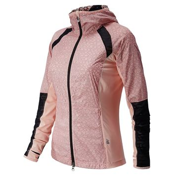 New Balance Performance Jacket - Women's Luxe Pink,
