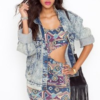 Aztec Cutout Dress  in  Clothes at Nasty Gal