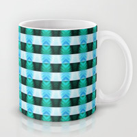 The Lazy Light Pattern Collection NO.12 Mug by Dawid Roc