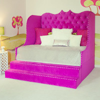 "Daybed ""Diana"" with storage steps, made to order."