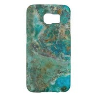Blue Stone Samsung Galaxy S6 Cases