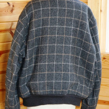Vintage Land-N-Lakes Wool fleece lined jacket