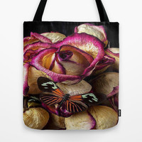 Morning Roses Tote Bag by Store2u