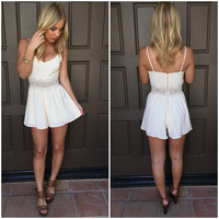 Dream in Cream Romper