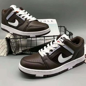 Nike SB AF2 Trending Running Sport Casual Shoes Sneakers For Women Men Coffee G-XYXY-FTQ