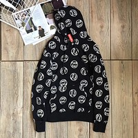 Supreme Fuck Em Woman Men Fashion Print Hoodie Top Sweater Pullover