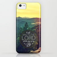 Psalm 104:33 Worship iPhone & iPod Case by Pocket Fuel