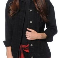 Highway Jeans Lissa Black Denim Jacket