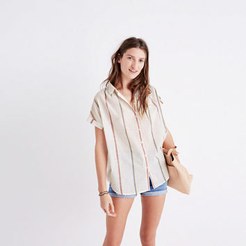 Central Shirt in Schulner Stripe