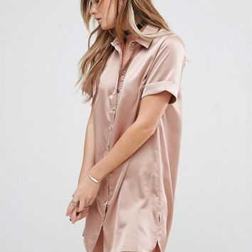 Glamorous Shirt Dress at asos.com