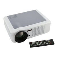 Best HD Video Home Theater 1080P PROJECTOR LED Lamp 2000 Lumens HDMI USB WII PS3