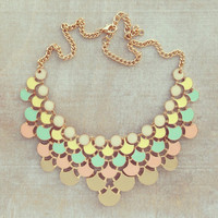 Pree Brulee - Picnic in a Parisian Garden Necklace