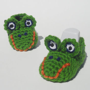 Florida Gators Baby Booties
