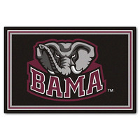 Alabama Crimson Tide NCAA Floor Rug (60x96)