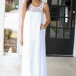 Goddess of the Ocean Maxi - White