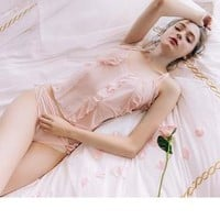 Waiting For You In My Dream - Peach 16 Fairy Babydoll Body Set