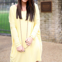 Piko Dress - yellow