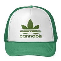 Cannabis Mesh Hats from Zazzle.com